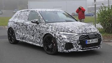 Audi RS3 mule 2020 SB – front