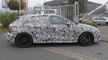 Audi RS3 mule 2020 SB – side