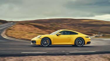 Porsche 911 Carrera 4S road side