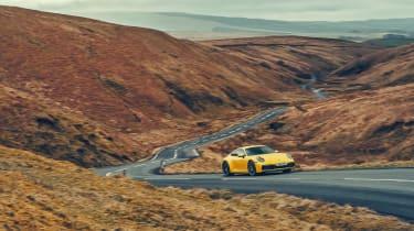 Porsche 911 Carrera 4S road