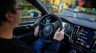 Best hybrid cars 2021 - Polestar 1 driving