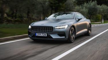 Best hybrid cars 2021 - Polestar 1 tracking