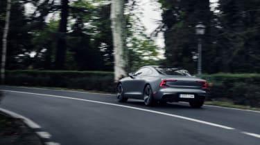 Best hybrid cars 2021 - Polestar 1 rear