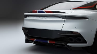 Aston Martin DBS Superleggera Concorde rear
