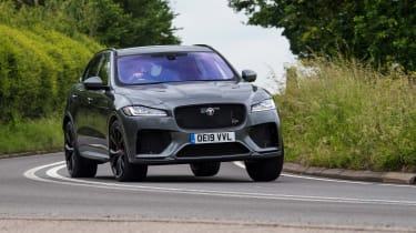 Jaguar F Pace SVR review 2019