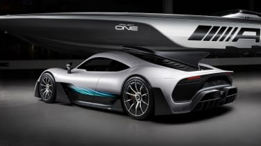 Mercedes-AMG Project One rear quarter