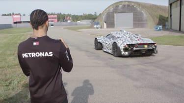 Mercedes-AMG One rear