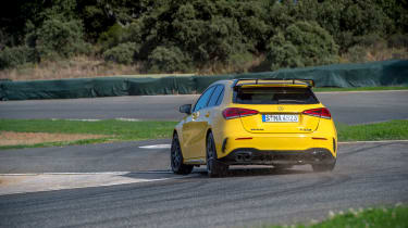 Best hot hatchbacks - Mercedes-AMG A45 S rear
