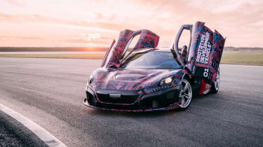 Rimac C_Two hypercar front