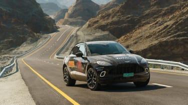 Aston Martin DBX proto
