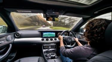 Mercedes-AMG E63 S interior