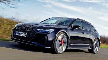 Audi RS6 Avant – front quarter