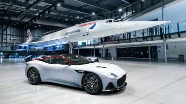 Aston Martin DBS Superleggera Concorde front