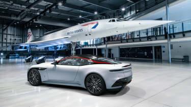 Aston Martin DBS Superleggera Concorde rear