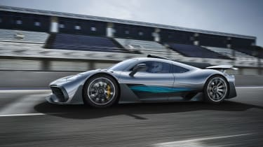 Mercedes-AMG Project One side