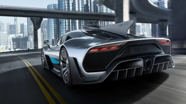 Mercedes-AMG Project One rear