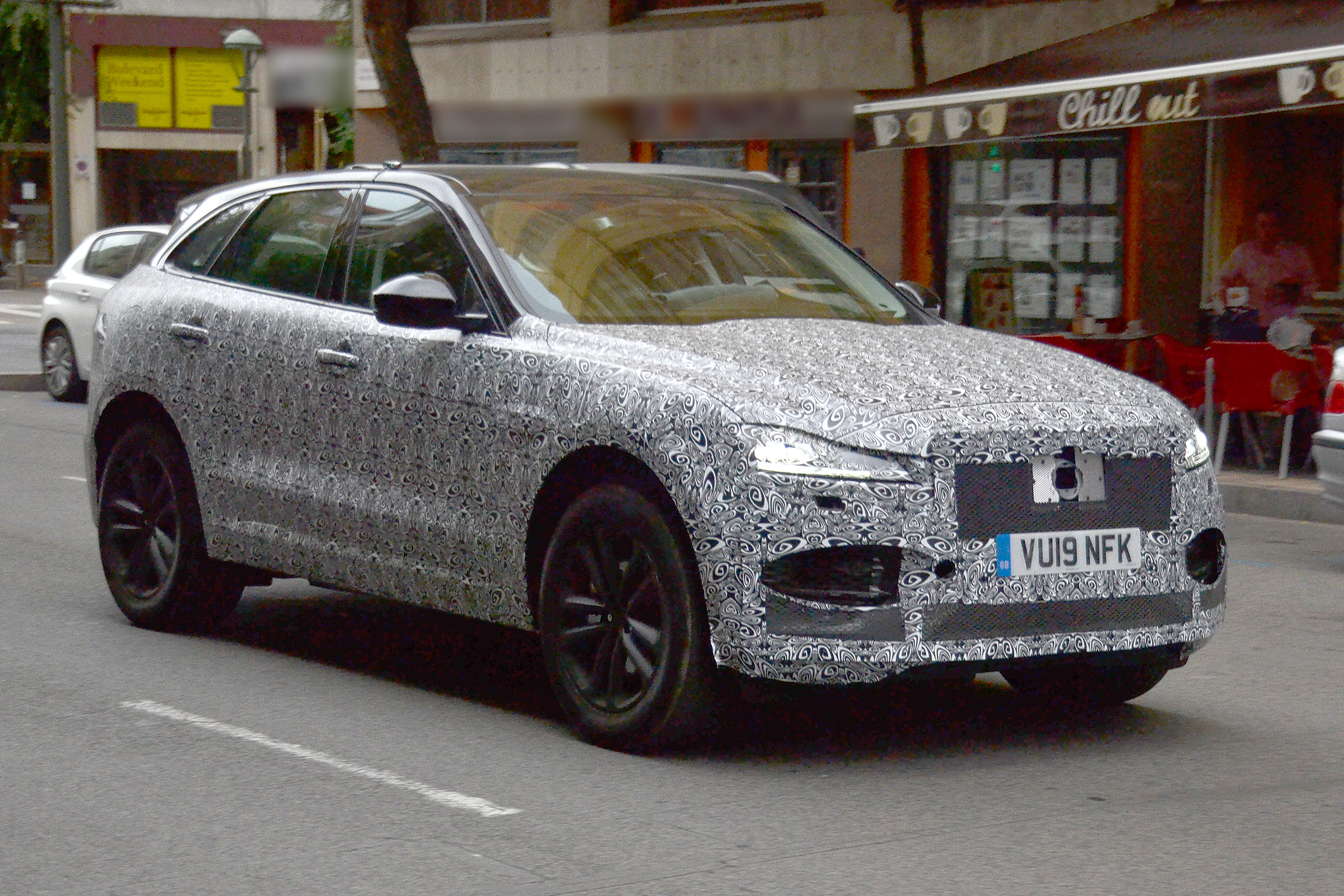 2020 Jaguar F Pace Spied Testing Pictures Evo