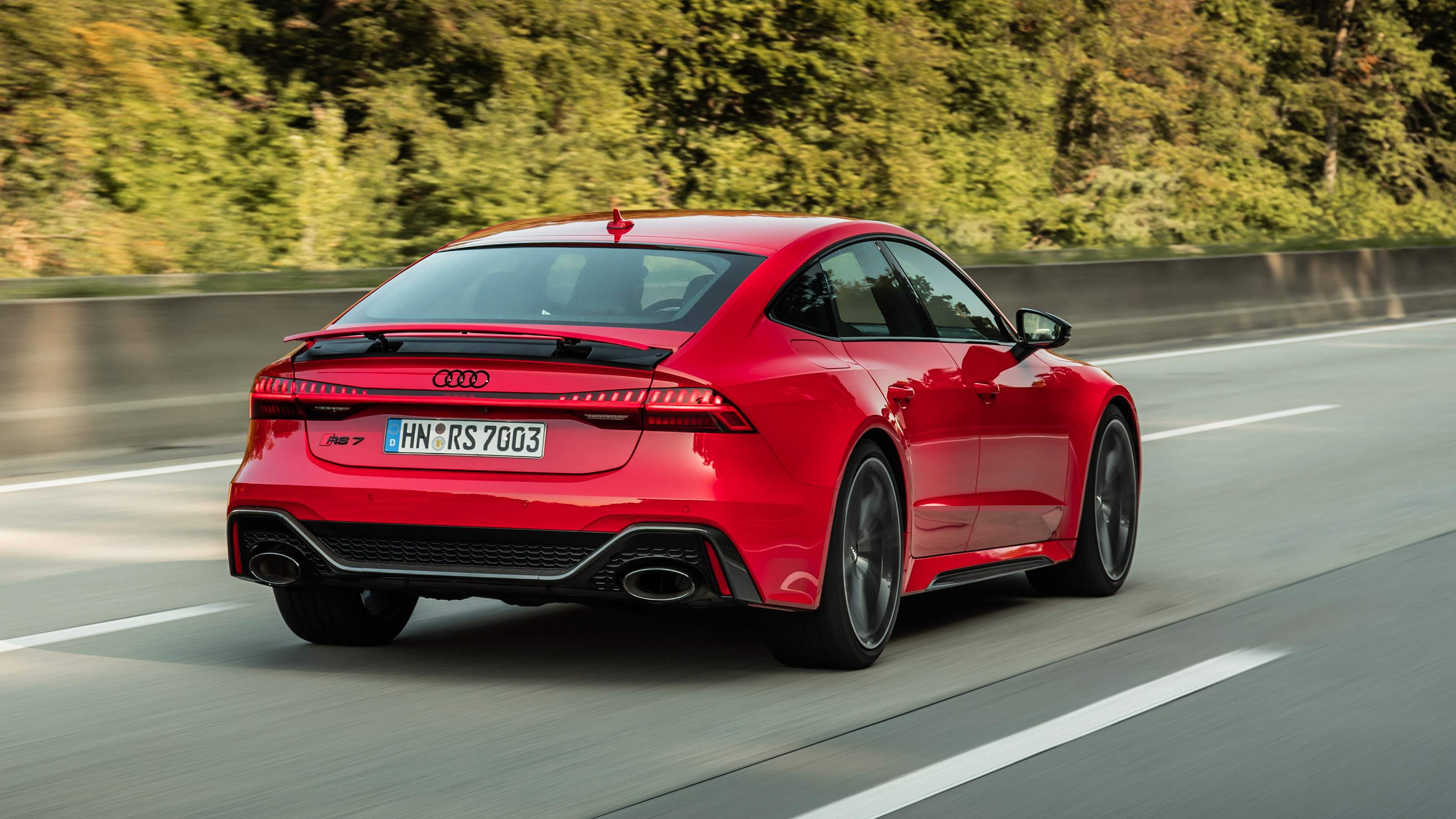 New Audi RS7 review - big 4-door surprises with agility and pace | Evo