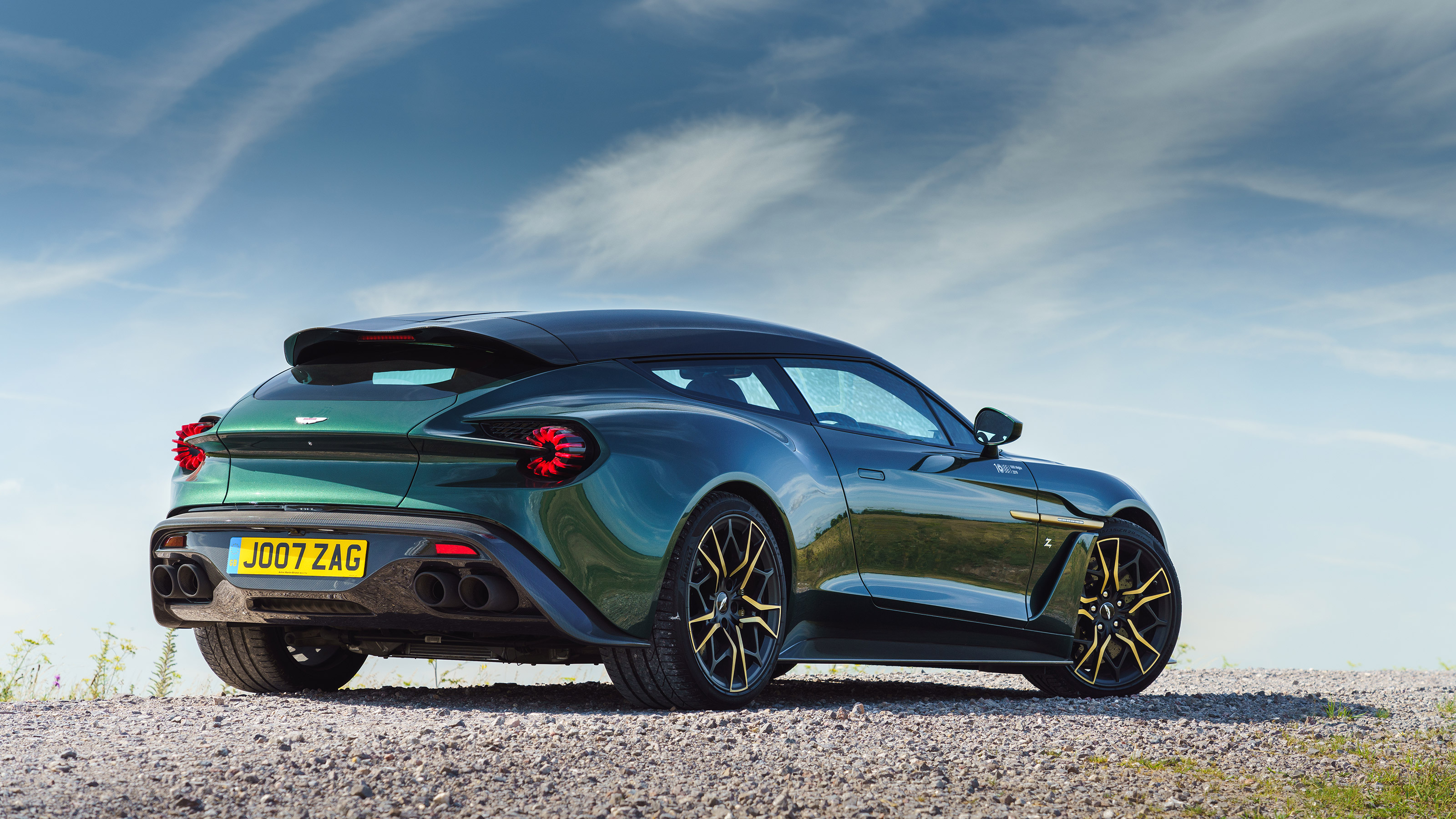 2019 Aston Martin Vanquish Zagato Shooting Brake Review Evo