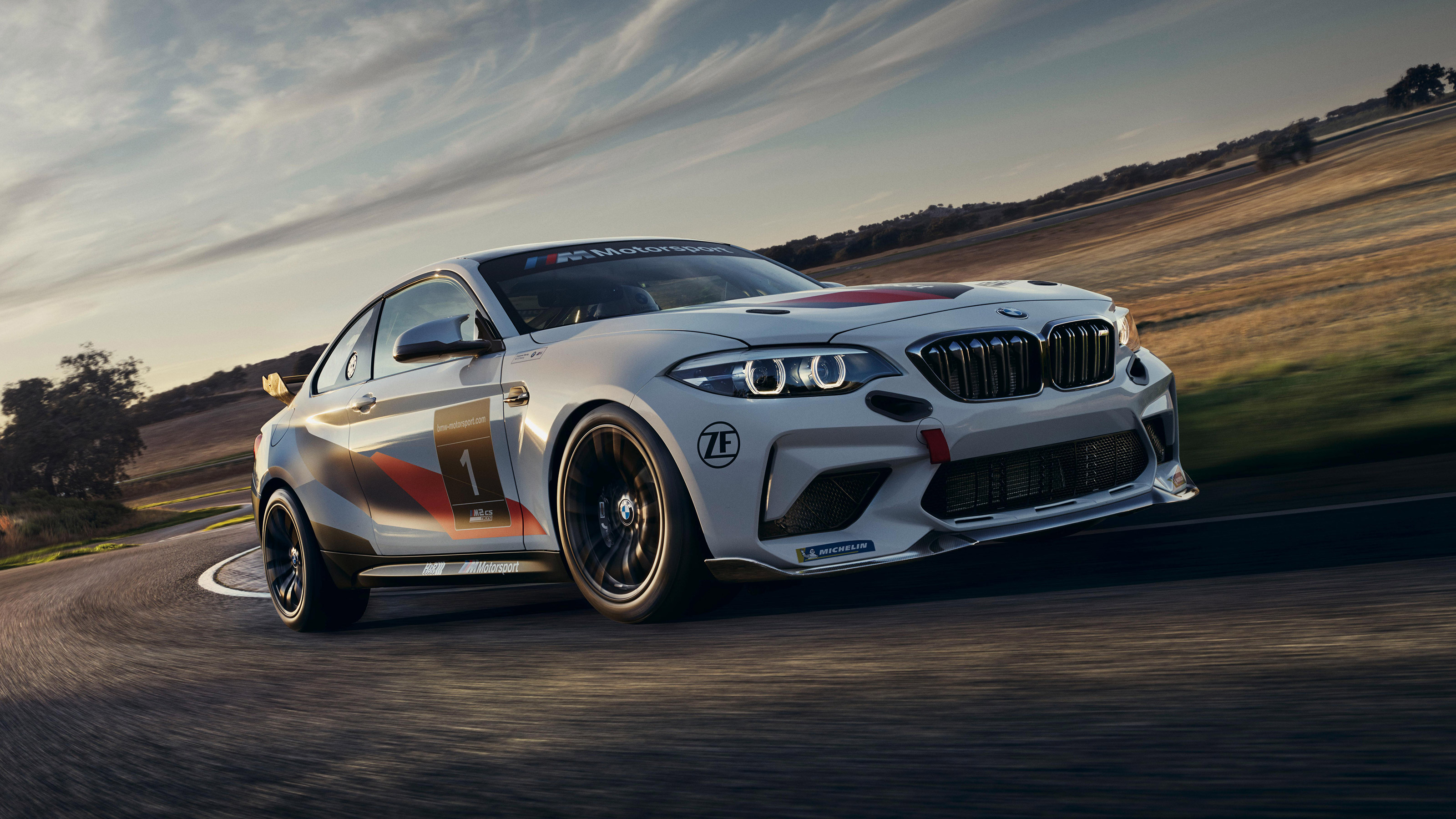 Track Only Bmw M2 Cs Racing Unveiled Evo