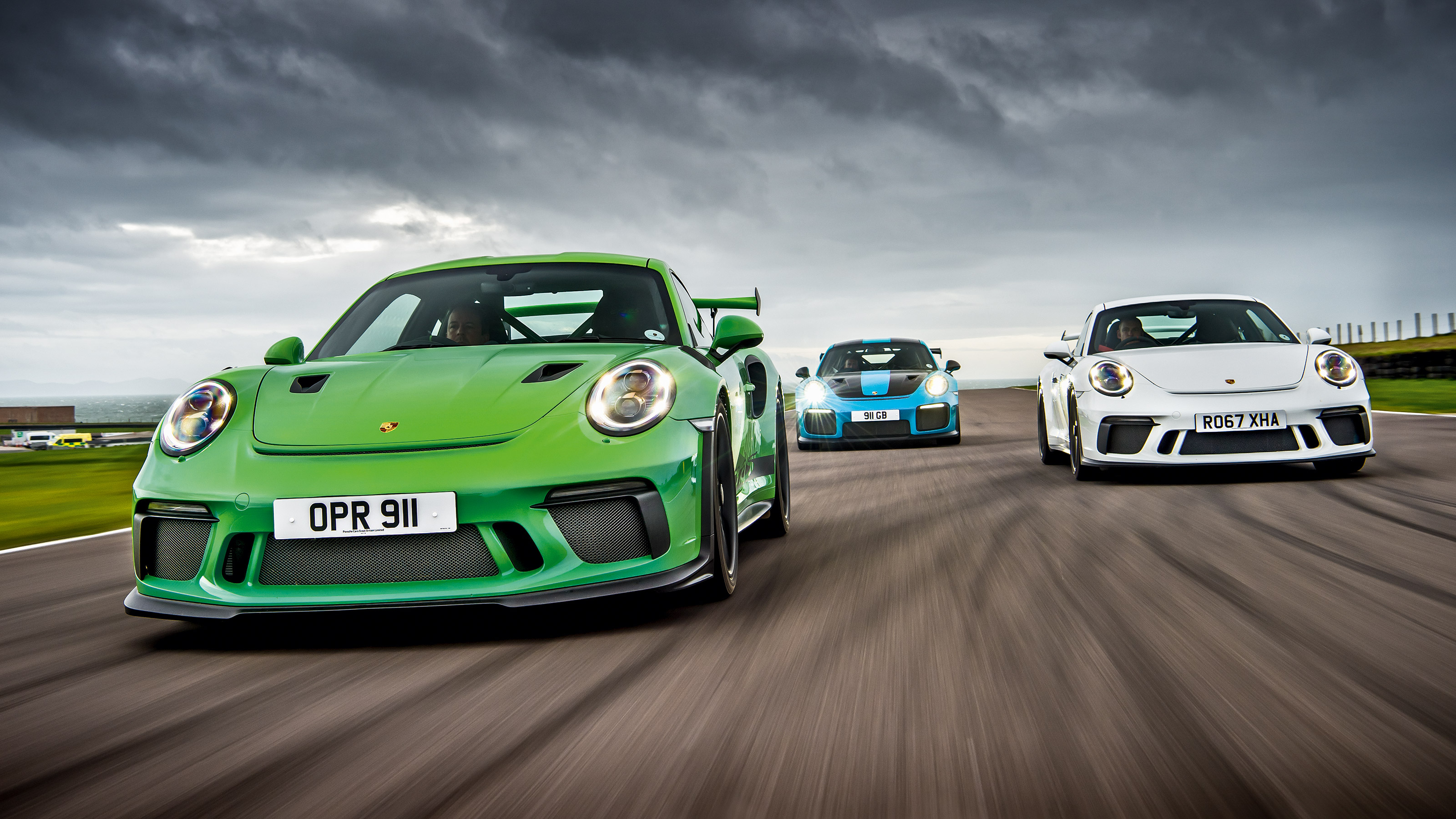 Porsche 911 Gt3 Vs Gt3 Rs Vs Gt2 Rs Track Battle Evo