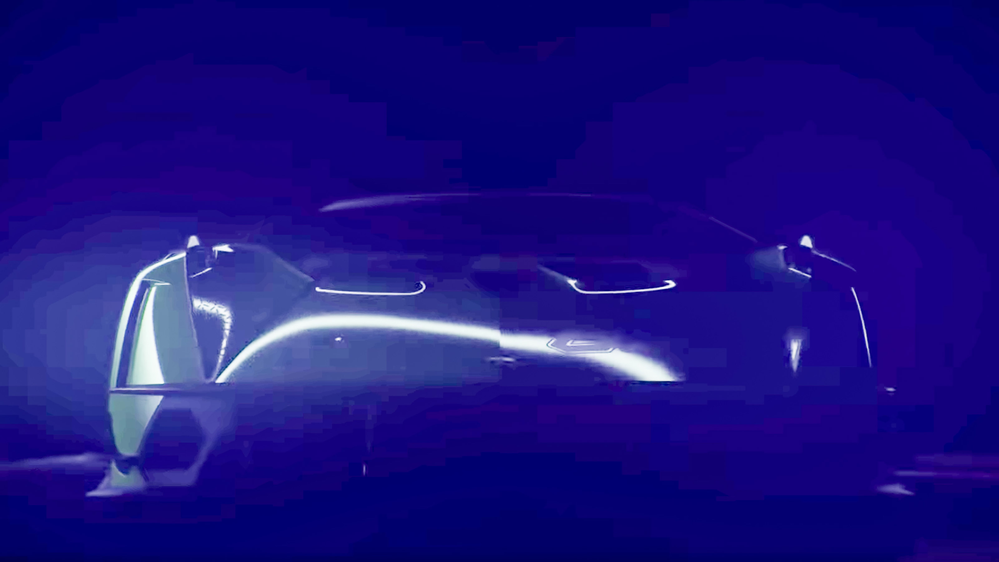 Lamborghini V12 track-only hypercar teased - pictures | evo