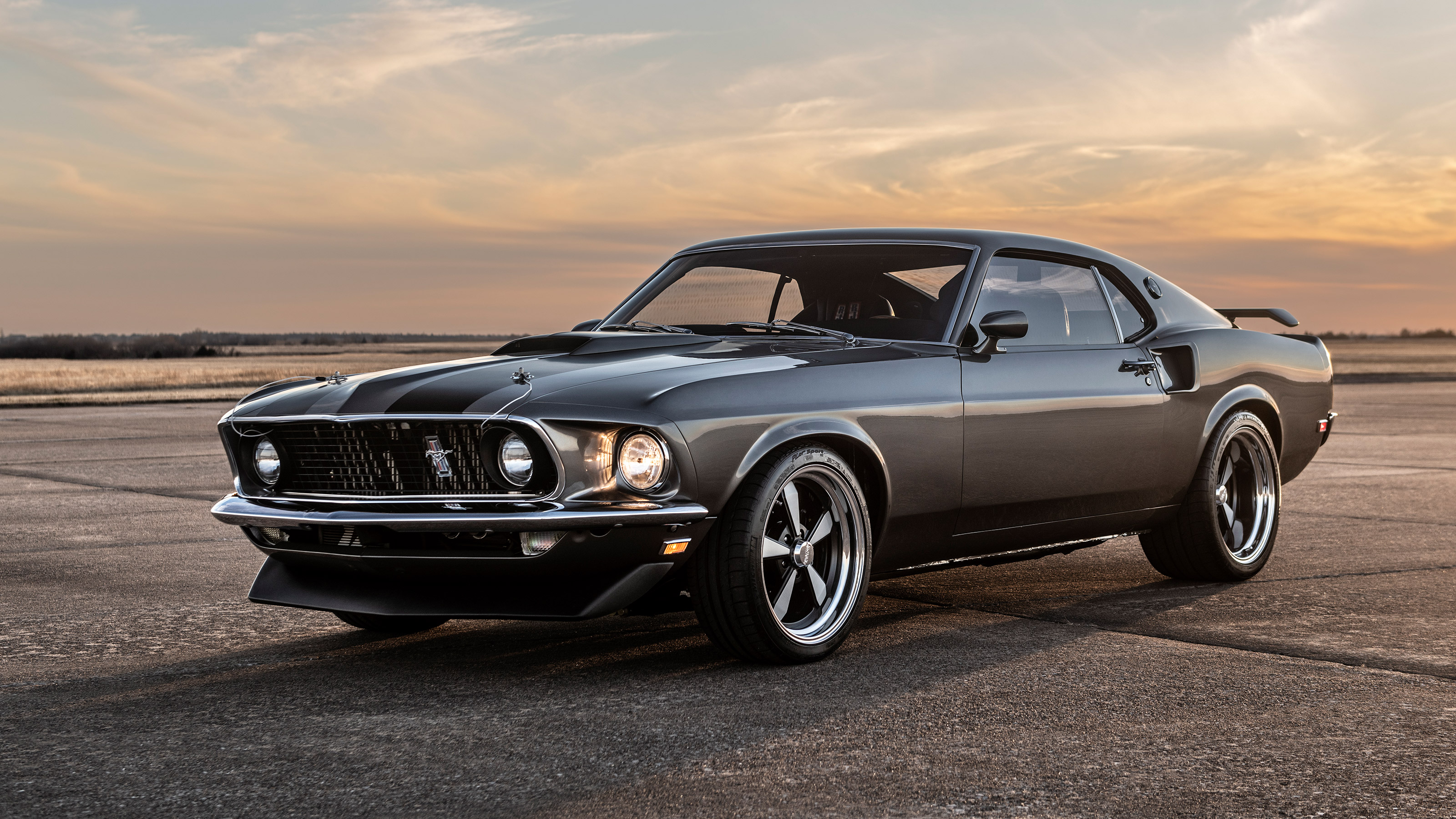 1969 Ford Mustang Mach 1 given 986bhp twin-turbocharged V8 | Evo